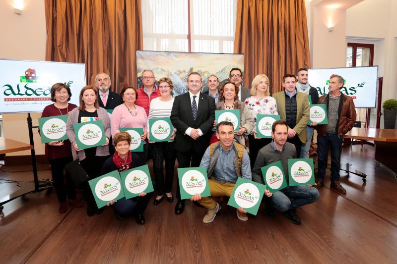 Una treintena de negocios se adhieren a la marca 'Aldeas, Asturias calidad rural'