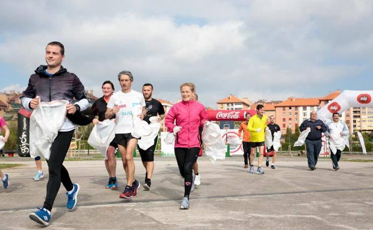 El plogging llega a Gijón