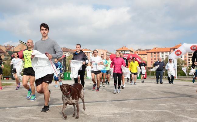El medio maratón del 'buen ambiente'