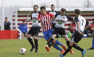 El Sporting B enlaza otro empate en Mareo