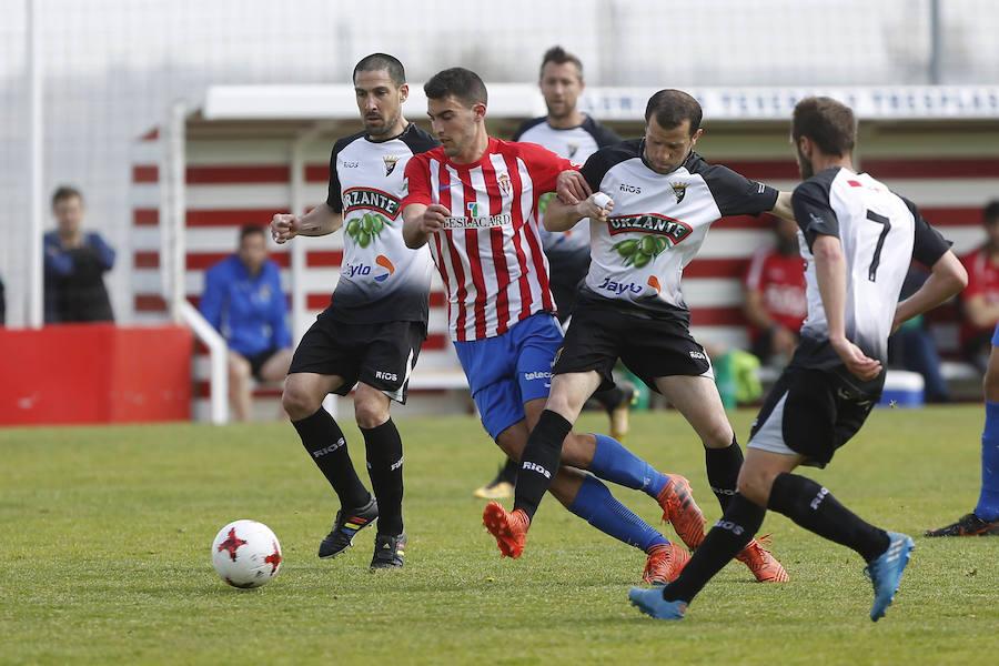Sporting B 1 - 1 Tudelano, en imágenes