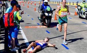 Polémica tras el colapso del escocés Callum Hawkins en el maratón