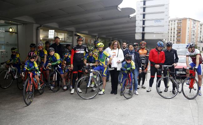 Chechu Rubiera: «Si la N-634 se declara ruta segura, fomentará el uso de la bicicleta»