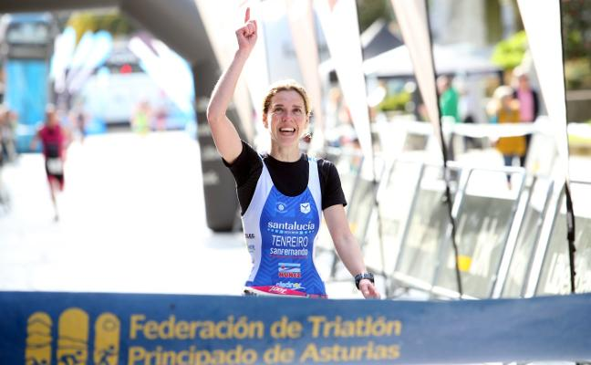 Bea Tenreiro homenajea a su marido con un triunfo en Oviedo
