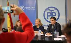 Mercedes Fernández: «Avilés quiere cambio y necesita cambio»