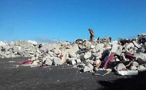 Una denuncia en Fiscalía revela que los vertidos ilegales de la Variante llegan a 1,6 millones de toneladas