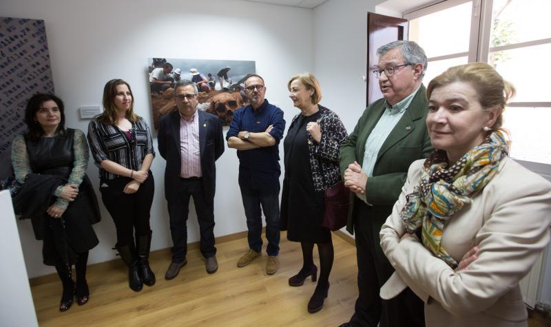 Eloy Alonso busca «dignificar la memoria» con 'Las fosas del olvido'