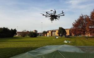 La Universidad de Oviedo patenta drones que detectan minas antipersona y miden emisiones de antenas