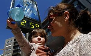 Los termómetros alcanzan los 28 grados en Asturias