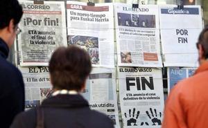 ETA anunciará su disolución el primer fin de semana de mayo