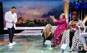 Carmen Gahona desnuda a Oriana Marzoli en directo en 'Supervivientes'