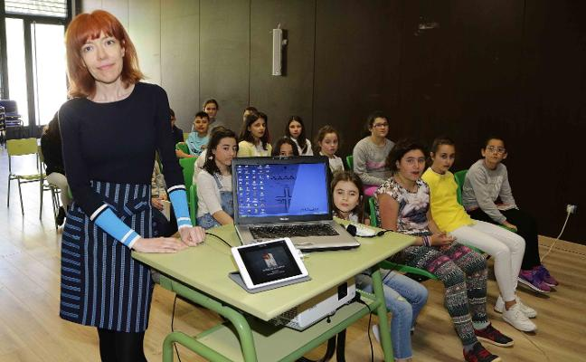 Encuentro literario con los escolares riosellanos
