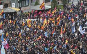 Marcha policial de Oviedo a Madrid por la equiparación salarial