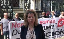 Trabajadores de Duro Felguera denuncian ante la Junta el ERE presentado por la compañía