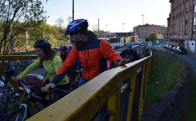 Día mundial de la bici en Lugones