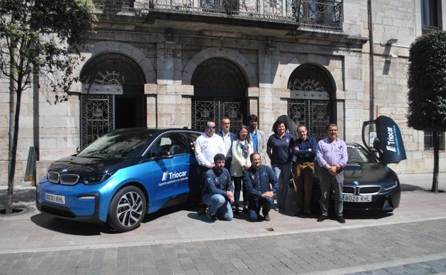 Una treintena de vehículos participan este fin de semana en el Eco Rallye