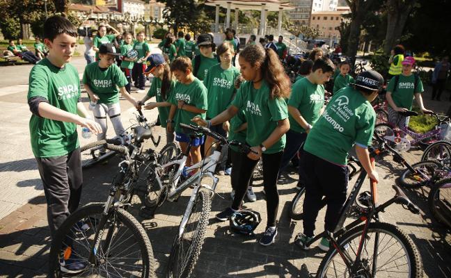 San Martín anima a utilizar la bicicleta