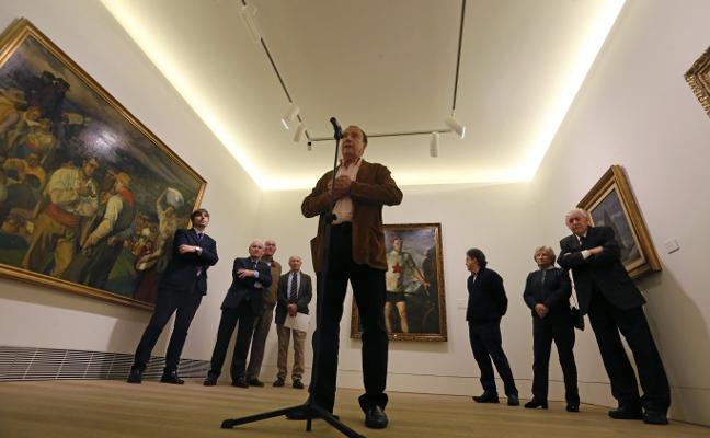 El Bellas Artes reivindica el arte de Nicolás Soria