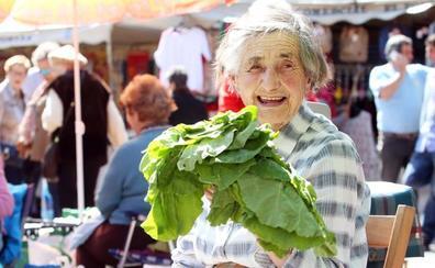 Gregoria Alonso, la 'abuela' del mercado de El Fontán