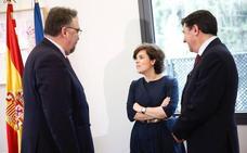 PP y Foro allanan el presupuesto con un pacto para un AVE a Madrid en dos horas y media
