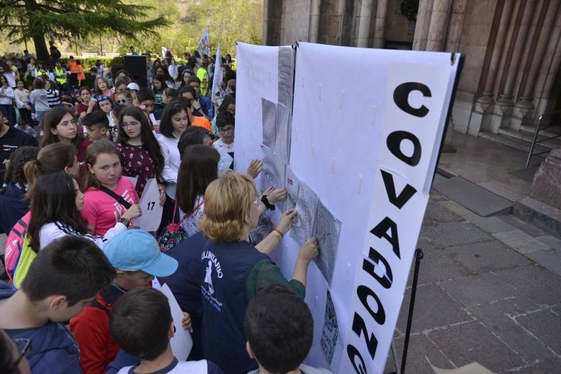 Los jóvenes llenan Covadonga