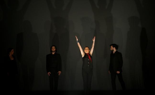 Las 'Sombras' de Sara Baras, en Oviedo