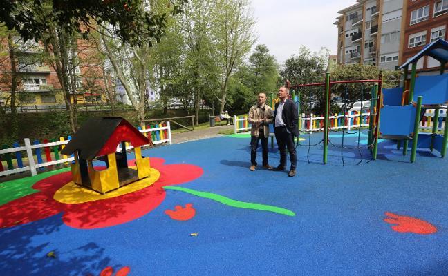 El parque de La Serrería se renueva con 20.000 euros de inversión
