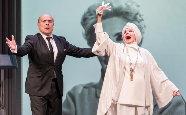 El ciclo de teatro trae una comedia de Concha Velasco y Antonio Resines