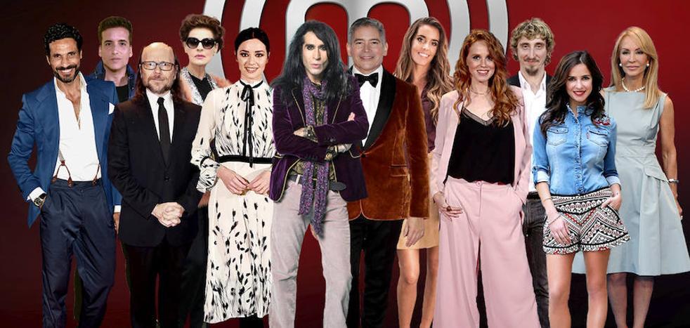 Estos son los concursantes de 'Masterchef Celebrity 3'
