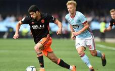 Sergio Álvarez evita la victoria del Valencia en Balaídos