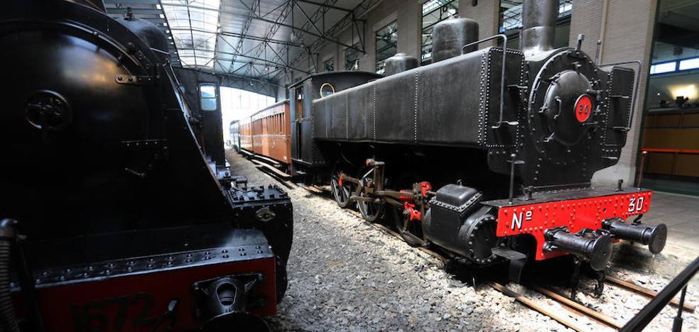 Denuncian el hallazgo de una grabadora oculta en el Museo del Ferrocarril de Gijón