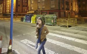 Paso de peatones más seguro con dos puntos de luz individuales
