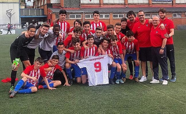 El Sporting infantil se proclama campeón de Asturias en Sama
