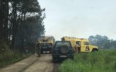 Controlado el incendio declarado esta tarde en Albarde, Valdés