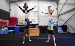 Pasión por la gimnasia acrobática