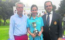 María Sierra se hace con el título nacional de pitch&putt en Boadilla