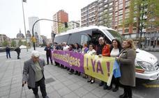 Los pensionistas llevan su reivindicación en defensa del sistema público a Bruselas