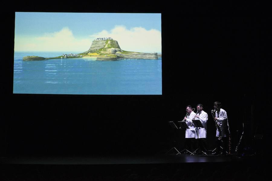 Concierto didáctico en el Teatro Filarmónica
