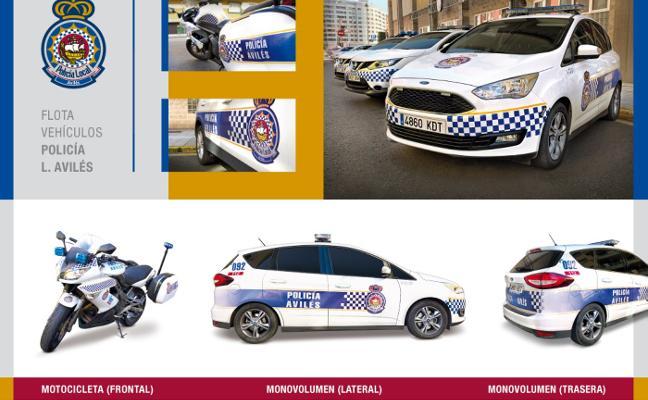 Premian la rotulación de la flota de la Policía Local