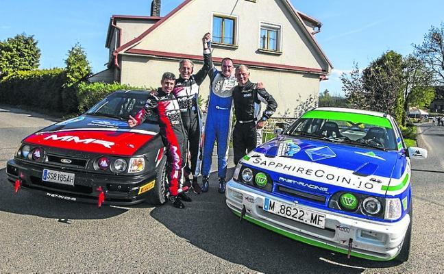Doblete de Past-Racing en el Historic Vltava Rally
