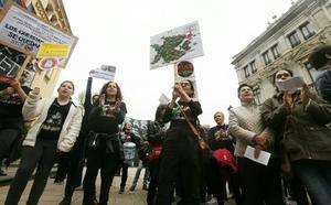 Suatea cifra en un 40% el seguimiento de la huelga de interinos que el Principado califica de «injustificada»