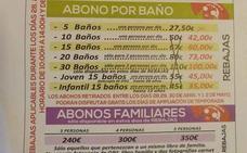 Polémica por los «abonos especiales para señoritas» en una piscina de Jaén