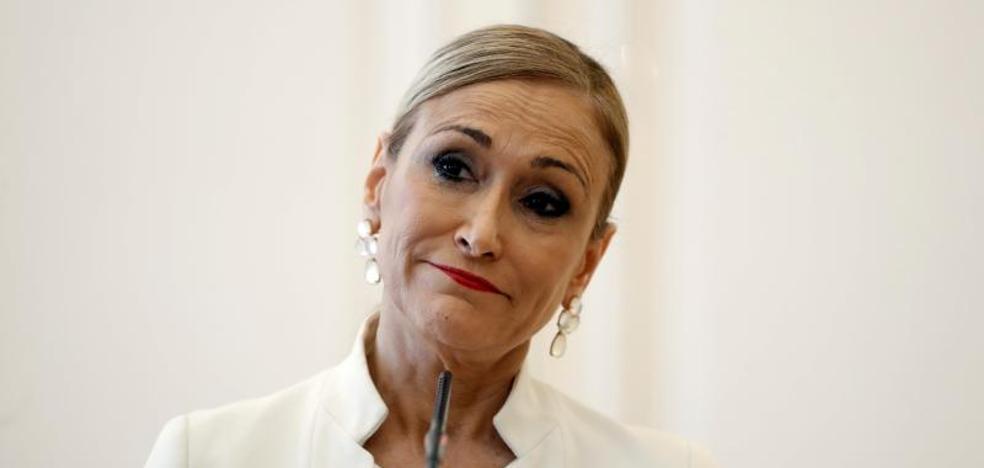 Cifuentes dimite como presidenta de la Comunidad de Madrid