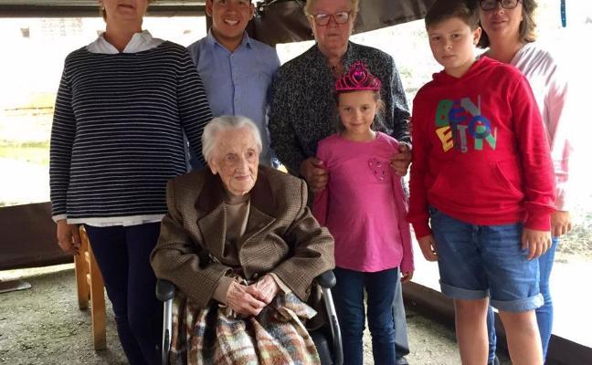 Fallece la 'abuela' del concejo a los 107 años