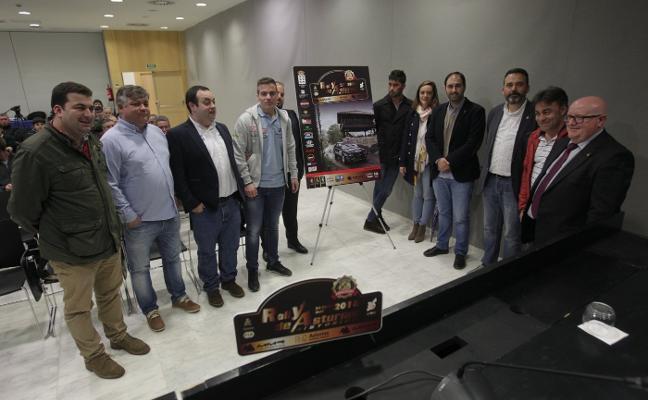 Punto de arranque para el Rally de Asturias Histórico
