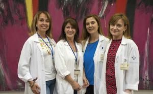 Premian el trabajo del equipo de enfermería del HUCA sobre nuevas tecnologías
