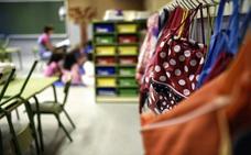 El número de plazas del primer año de Infantil sigue a la baja con 381 vacantes