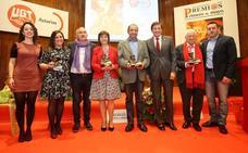 UGT anima en sus premios a un Primero de Mayo «cargado de reivindicaciones»