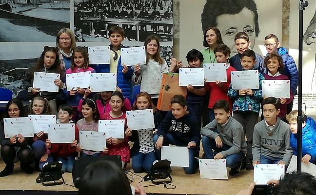 El colegio Poeta Antón gana el concurso escolar 'Dichos y Creatures'