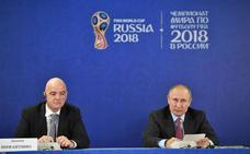 La FIFA considera que Rusia está «totalmente preparada» para el Mundial